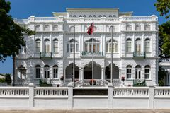 White Hall, office of the Prime Minister of Trinidad and Tobago, Port of Spain city, Caribbean. One of the Magnificent Seven