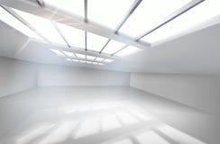 White hall. Vector illustration. Royalty Free Stock Photo
