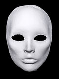 White Hand Made Mask Royalty Free Stock Photography