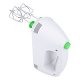 White hand mixer. Isolated render on a white background Stock Images