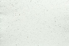 White handmade paper texture Royalty Free Stock Photography