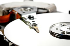 White Hard Drive Royalty Free Stock Photography