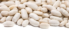 White haricot beans Stock Photo