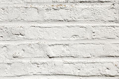 White harmonic brick wall Royalty Free Stock Photos