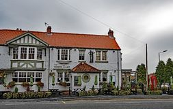 The White Hart 4, Wadworth, Doncaster, South Yorkshire. royalty free stock photo