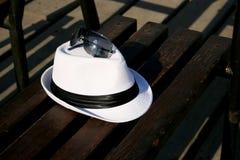 White hat Royalty Free Stock Photos
