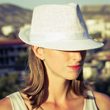 White hat Stock Photo