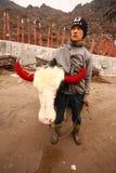 White headed yak at Sikkim, India Stock Images
