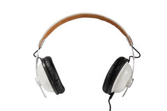 White headphone Royalty Free Stock Photography
