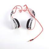 White headphone on white background Stock Photos