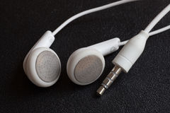 White headphones Stock Image