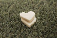 White Heart Stock Photos
