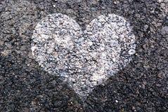 White Heart Stock Photo