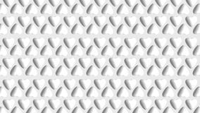 White hearts. White heart on white background Royalty Free Stock Images
