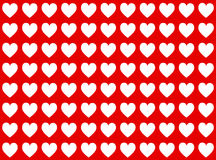 White hearts Royalty Free Stock Photos