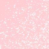 White hearts confetti. Stock Photos