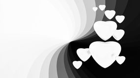 White hearts. Cute white hearts on background Royalty Free Stock Images