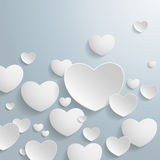 White Hearts Royalty Free Stock Image