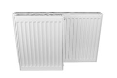 White heating radiator Royalty Free Stock Images