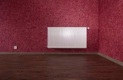 White heating radiator Stock Photography
