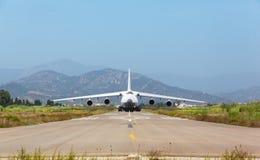 White heavy cargo jet Stock Image