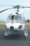 White helicopter Royalty Free Stock Photos