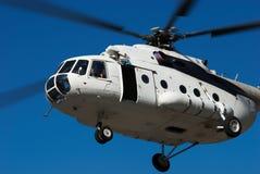 white helikoptera wielkiej muchy Obrazy Stock