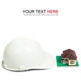 White Helmet Stock Image