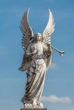 White herald angel Stock Photo