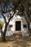 White Hermitage s. XVII. In San Francisco, Costa Brava, Blanes,Girona,Catalonia,Spain Royalty Free Stock Photo