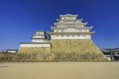 The white Heron castle - Himeji Stock Image