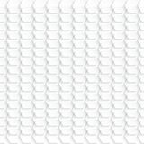 White hexagon background Royalty Free Stock Photography