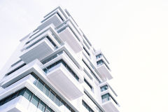 White High Rise Building Stock Photos