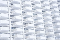 White High Rise Building Stock Image