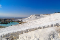 White Hill Pamukkale Royalty Free Stock Image