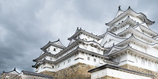 White Himeji castle Royalty Free Stock Photo