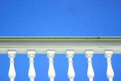 White historic railing Royalty Free Stock Image