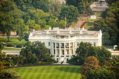 The White Hiuse aerial view in Washington, DC Royalty Free Stock Image