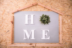 White home title royalty free stock images