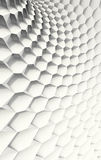 White Honeycomb Royalty Free Stock Image