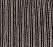 White honeycomb grid on black Stock Photos