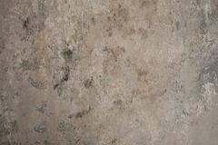 White Horizontal Wall Texture. Urban White Wash Old Brick Wall Background. Vintage Gray Retro Plaster Wall Structure. Grungy Shabb royalty free stock images