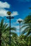 White horn speaker Royalty Free Stock Images
