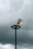 White horn speaker Royalty Free Stock Image