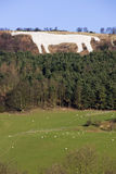 White Horse at Kilburn - Great Britain Stock Photo