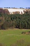 White Horse at Kilburn - Great Britain Stock Photo