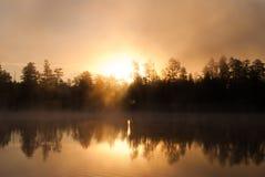 White Horse Lake Campgrounds, WIlliams, AZ Royalty Free Stock Photo
