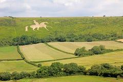 White horse osmington, historic figure Stock Image