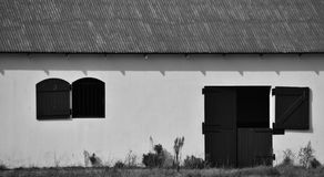 White Horse Stable Stock Photos