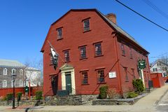 White Horse Tavern, Newport, Rhode Island, USA royalty free stock photos
